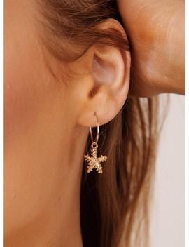 Dainty Starfish Earrings by Princess Polly