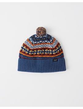 Cozy Knit Pom Beanie by Abercrombie & Fitch
