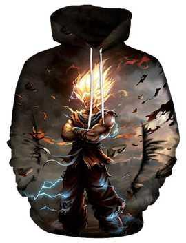 Pullover Hero Print Cool Hoodie by Gamiss