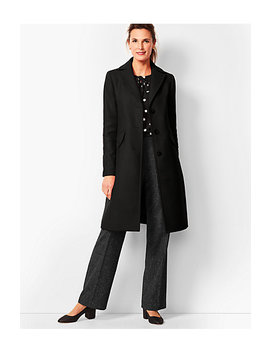 Italian Melton Coat by Talbots