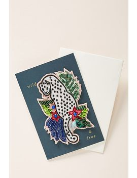 Wild & Free Sticker Patch + Card by Anthropologie