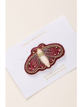 Magnificent Moth Sticker Patch by Anthropologie