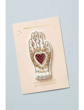 Golden Hand Sticker Patch by Anthropologie