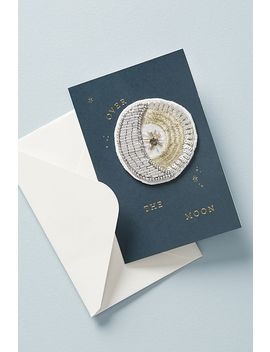 Moonburst Sticker Patch + Card by Anthropologie