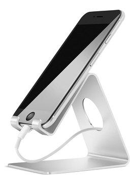 Lamicall Supporto Telefono, Dock Telefono : Universale Supporto Dock Per Phone Xs Xs Max Xr X 8 7 6 6 S Plus 5 5 S 4 4 S, Huawei, Samsung S9 S8 S7 S6 S5 S4 S3, Scrivania, Altri Smartphone   Argento by Lamicall