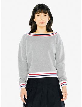 Heavy Terry Sport Sweatshirt by American Apparel