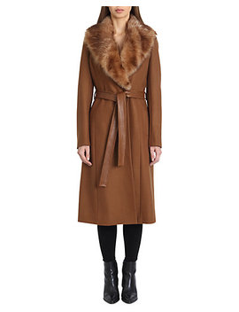 Badgley Mischka Natasha Coat by Badgley Mischka