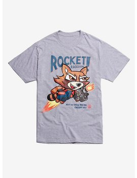 Marvel Guardians Of The Galaxy Rocket Raccoon Ain't No Thing Like Me T Shirt by Hot Topic