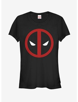 Marvel Dead Pool Straight Away Girls T Shirt by Hot Topic