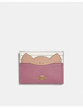 Card Case With Pig by Coach