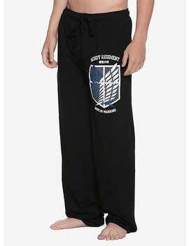 Attack On Titan Scout Regiment Guys Pajama Pants by Hot Topic
