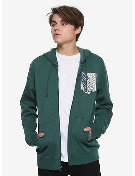 Attack On Titan Scouting Legion Hoodie by Hot Topic