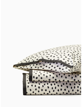Flamingo Dot Duvet Set by Kate Spade