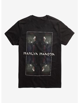 Marilyn Manson Mirrored T Shirt by Hot Topic