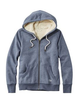 Sherpa Lined Hoodie by L.L.Bean