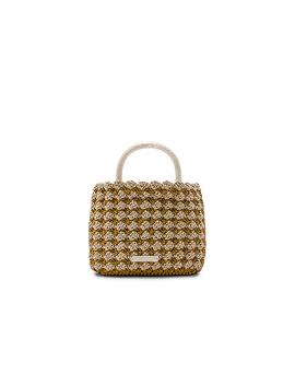 Audrey Crochet Tote by Loeffler Randall