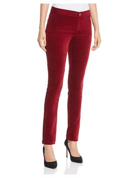 Velvet Skinny Pants by Nic And Zoe