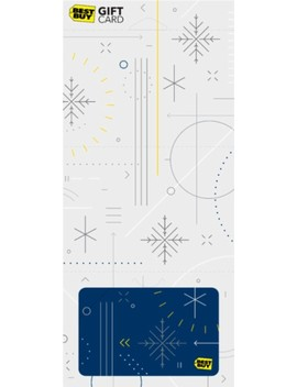 $100 Winter Snowflake Gift Card by Best Buy Gc
