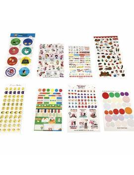 54 Fogli Carino Adesivi Emoji Per Diy Diario Calendario Libro Scrapbook Album Adesivi Decorazione(2962 Adesivi) by Hangmu