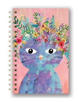 Fancy Cat Spiral Notebook by Zulily