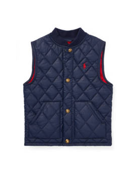 Quilted Baseball Vest by Ralph Lauren