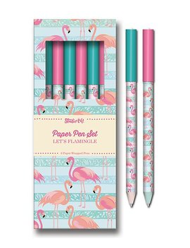 Let's Flamingle Paper Pen Set by Zulily