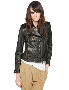 Classic Moto Leather Jacket by R13