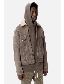 John Elliott X Blackmeans Shearling Thumper Jacket by John Elliott