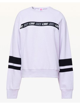 Jxjc Repeat Juicy Logo Stripe Pullover by Juicy Couture