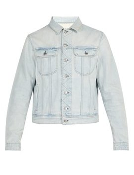 Tent Washed Denim Jacket by Acne Studios