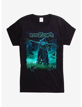 Rob Zombie Scarecrow Girls T Shirt by Hot Topic