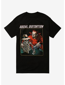 Social Distortion Devil Skeleton T Shirt by Hot Topic