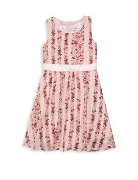 Girl's Rose Petal A Line Dress by Bcb Girls