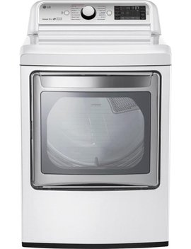 7.3 Cu. Ft. 14 Cycle Electric Dryer With Steam   White by Lg