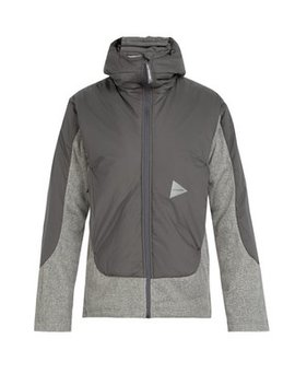 Zip Through Hooded Fleece Jacket by And Wander
