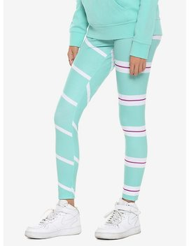 Disney Wreck It Ralph 2: Ralph Breaks The Internet Vanellope Leggings by Hot Topic