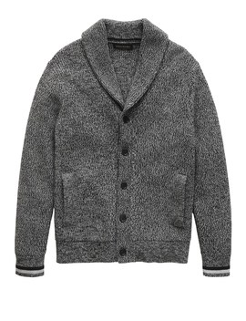 Supima® Cotton Cardigan Sweater by Banana Repbulic