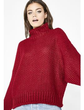 Baby Darling Turtleneck Sweater by Cotton Candy
