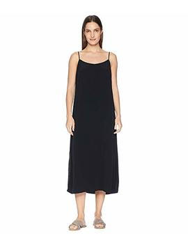 Tencel Viscose Crepe V Neck Cami Dress by Eileen Fisher