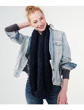solid-sherpa-infinity-scarf by aeropostale
