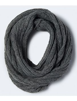 Cable Knit Infinity Scarf by Aeropostale