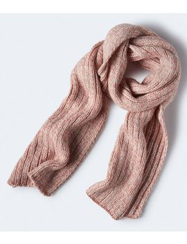 ribbed-marled-knit-scarf*** by aeropostale