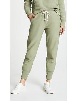 Rib Cuff Pants by Champion Premium Reverse Weave