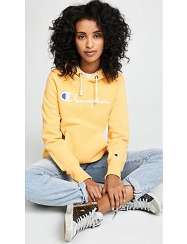 Hooded Sweatshirt by Champion Premium Reverse Weave
