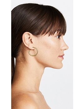 Medium Chunky Hoop Earrings by Madewell