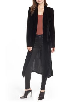 La Roux Velvet Belted Robe by Wayf