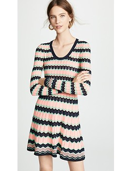 Scoop Neck Dress by M Missoni