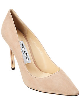 Jimmy Choo Romy 100 Suede Pump by Jimmy Choo