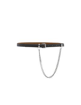 חגורת דמוי עור מונריין שרשרת גורמט by Adika