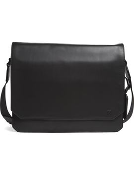 'tolve' Leather Messenger Bag by Vince Camuto